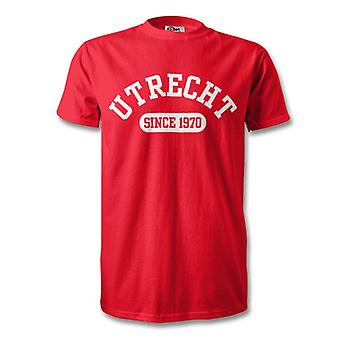 Utrecht 1970 Established Football T-Shirt