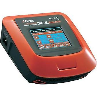 Scale model multifunction charger 110 V, 220 V 7 A Hitec X1 Touch NiMH, NiCd, LiPolymer, Li-ion