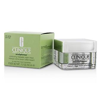 Clinique Sculptwear Contouring Massage Cream Mask - For All Skin Types 50ml/1.7oz