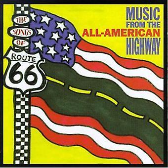 Sange af Route 66 - sange af Route 66 [CD] USA import