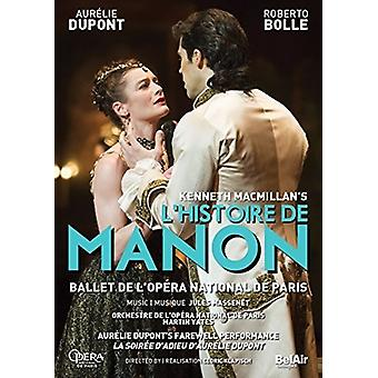 Macmillan's L'Histoire De Manon [DVD] USA importerer