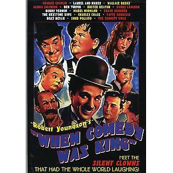 Cuando la importación USA comedia fue rey [DVD]