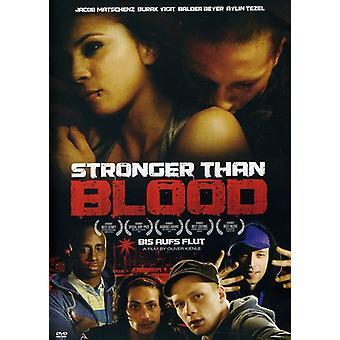Stærkere end blod [DVD] USA importerer