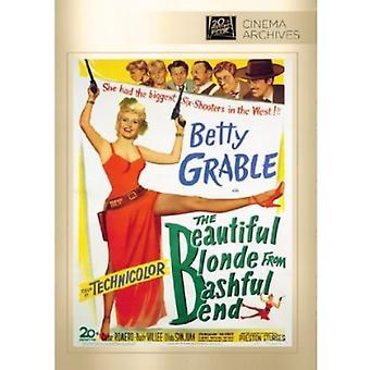 Beautiful Blonde From Bashful Bend [DVD] USA import