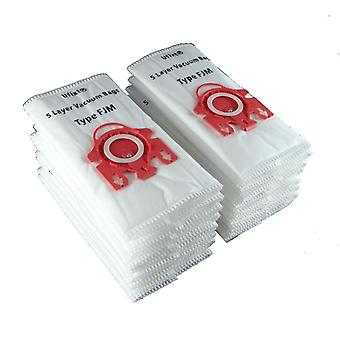 Pack Of 20 Miele S4212 Plus Vacuum Bags Type FJM *Free Delivery*