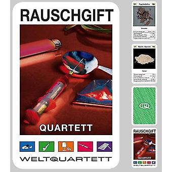 Drugs Quartet intoxicants Quartet card game