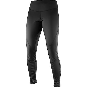 Salomon Damen Laufhose Trail Runner WS Tight Schwarz - 382422