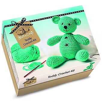 House of Crafts Start A Craft Teddy Crochet Kit