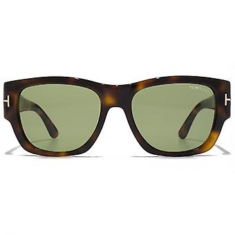 Tom Ford Stephen Sonnenbrillen In dunklen Havanna Green
