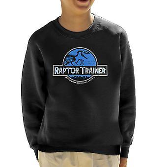 Raptor træner Jurassic verden børne Sweatshirt