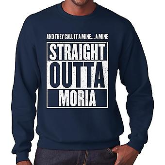 Straight Outta Moria Lord Of The Rings Men's Sweatshirt