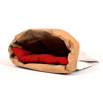 Duvo+ Rest bag Cats Red 44 X 28 X 3 cm (Cats , Bedding , Igloos)