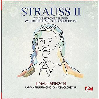 Strauss - Wo Die Zitronen Bluhen (hvor the citroner Blossom) [CD] USA importerer