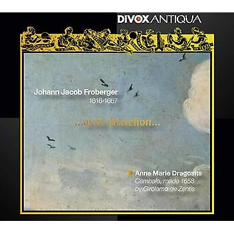 Froberger / Dragosits - Johann Jacob Froberger: Avec skøn [CD] USA import