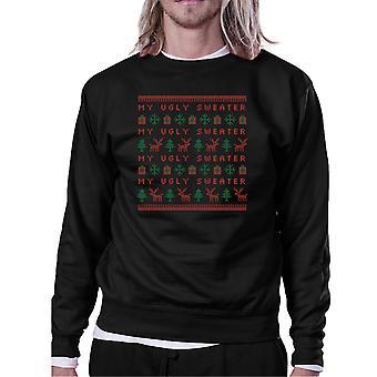 My Ugly Sweater Christmas Gift Sweatshirt Crewneck Pullover Fleece