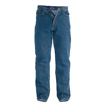 Duke Mens Rockford Tall Comfort Fit Jeans