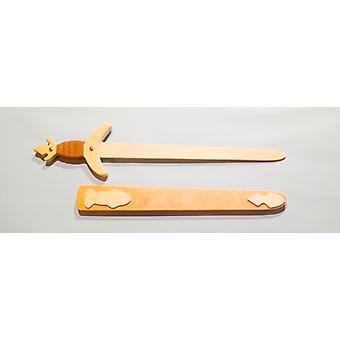 Wood child costume sword Knight sword length 63 cm