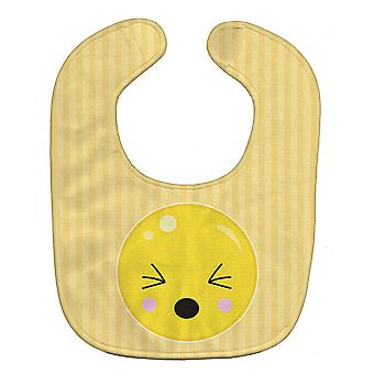 Carolines Treasures  BB8739BIB Eyes Closed Face Baby Bib
