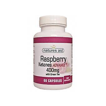 Natures Aid Raspberry Ketones Advance+ with green tea (60 Capsules)