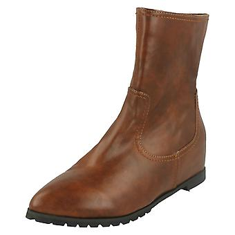 Ladies Spot On Ankle Boots F4365