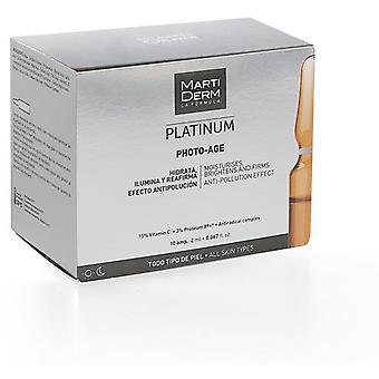 Martiderm Photo-Age Aging Prevention 30 Ampoules  (Cosmetics , Facial , Concentrates)