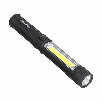 Portwest - High Powered 150-40 Lumen Magnetic Wide Beam Dual Inspection Torch