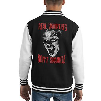 The Lost Boys Real Vampires Dont Sparkle Kid's Varsity Jacket