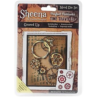 Sheena Douglass Perfect Partners Time Traveller Metal Dies-Geared Up SDPPMD-GEAR