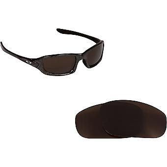 Fives 4.0 Replacement Lenses Bronze Brown by SEEK fits OAKLEY Sunglasses