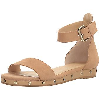 Chinese Laundry Womens Grady Suede Open Toe Casual Ankle Strap Sandals