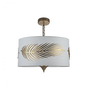 Maytoni Lighting Farn House Collection Pendant, Gold