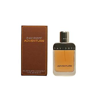 Davidoff Adventure Eau De Toilette Vapo 50ml Mens New Perfume Scent Sealed Boxed