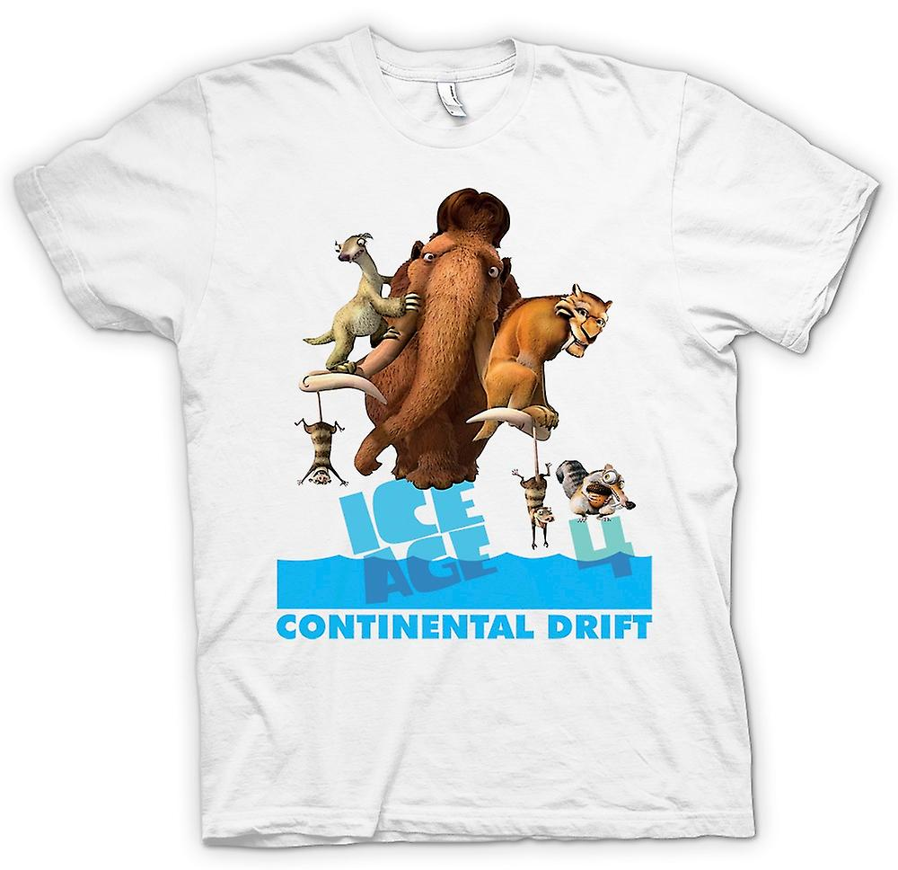 Hommes T-shirt - Ice Age - Continental Drift