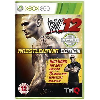 WWE 12 Wrestlemania Edition (Xbox 360)