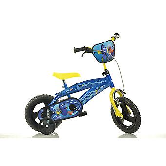 Finding Dory Blue Kids Bike - 12 Inches Childrens Bike - Dino Bikes
