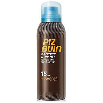 Piz Buin Protect and Cool Mousse Refrescante FPS 15 - 200 ml