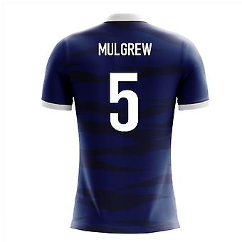2018-2019 Scotland Airo Concept Home Shirt (Mulgrew 5)