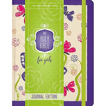 NIV Holy Bible For Girl - Journal Edition-Purple