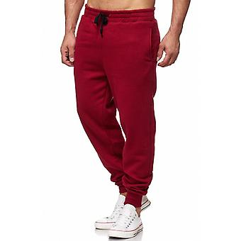Tazzio fashion men's sweatpants basic Bordeaux