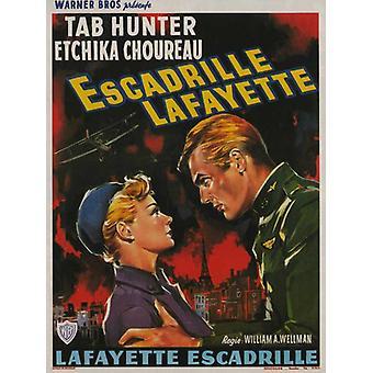 Lafayette Escadrille filmaffisch (11 x 17)