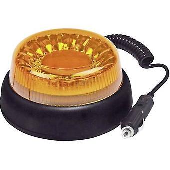 Fristom Emergency light FT-100 LED MAG M78 95111 12 V, 24 V, 40 V via in-car outlet Magnetic fastening Orange