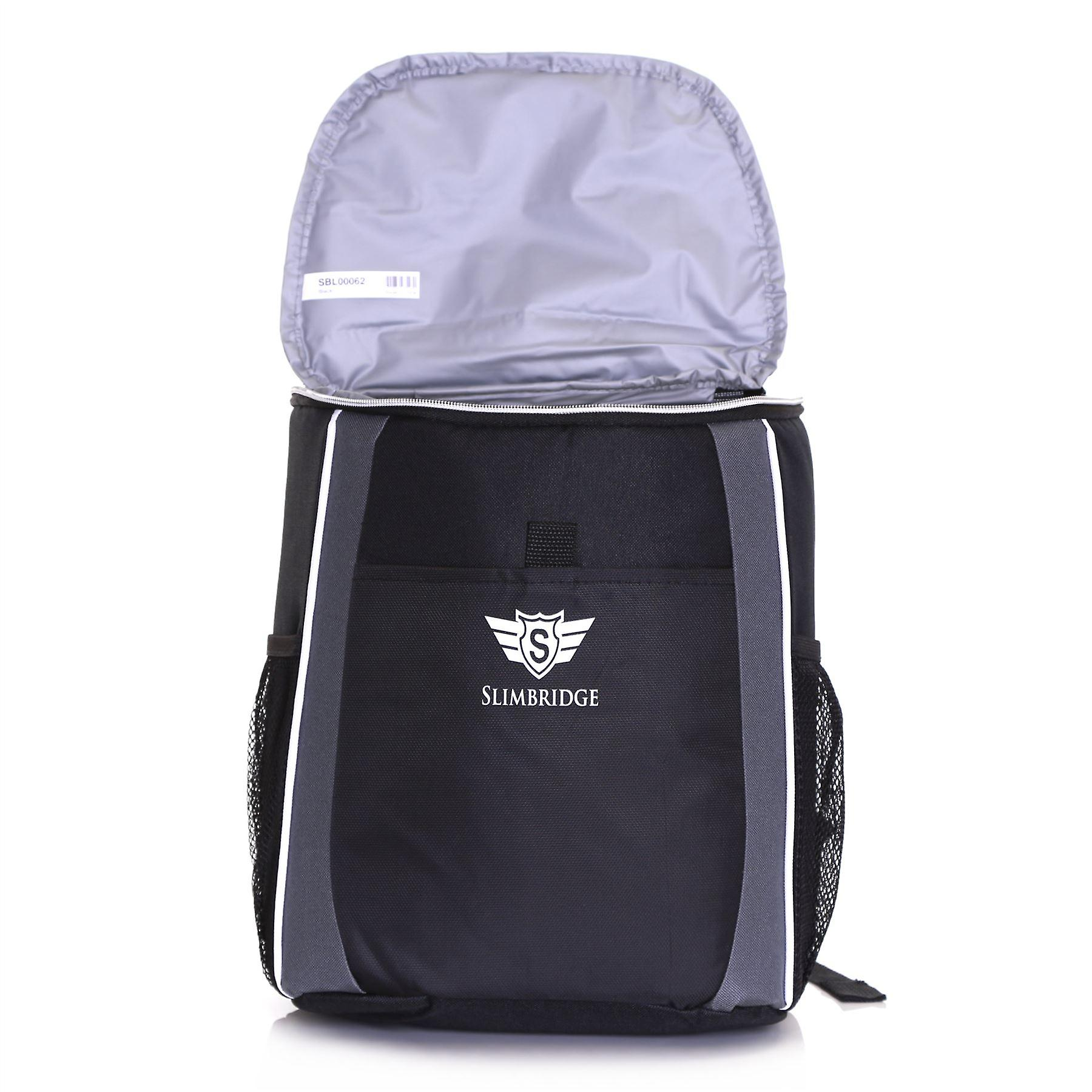 Slimbridge Brean Insulated Picnic Backpack, Black