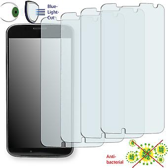Motorola ghost display protector - Disagu ClearScreen protector (deliberately smaller than the display, as this is arched)