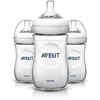 Philips SCF693/37 Avent Natural 9oz/260 ml Baby Feeding Bottle