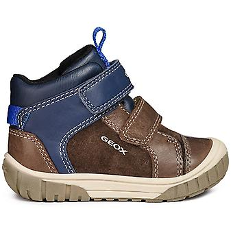 Geox Boys Omar B84D8B Boots Coffee Navy