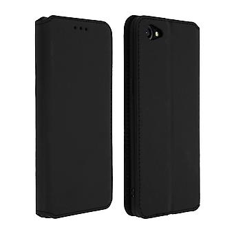 Slim Classic Edition stand case with card slot for Oppo A3 - Black