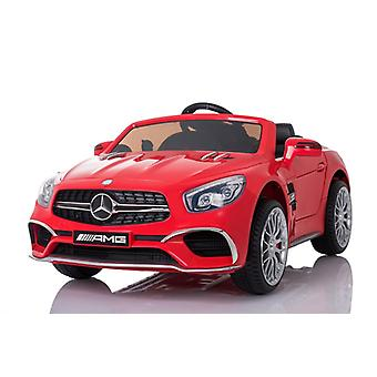 Licensed Mercedes SL65 AMG 12v Ride on Car EVA Tyres Red