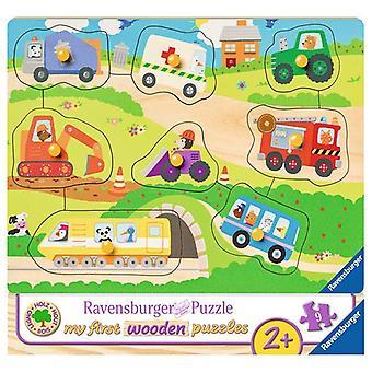 Ravensburger Puzzel lievelingsvoertuigen