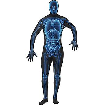 Smiffy's X Ray Costume, Second Skin Suit