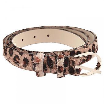 Abro Women's Leopard Print Belt